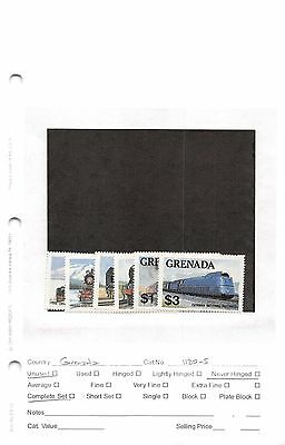 Lot of 20 Grenada MNH Mint Never Hinged Stamps #94553 X