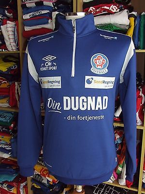 Sweatshirt Trikot Lorenskog IF (L) Umbro Norwegen Noway Training Top Shirt
