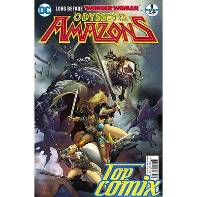 Odyssey Of The Amazons #1 Dc Comics New Fast U.s Shipping