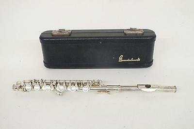 Vintage 1987-89 Gemeinhardt Piccolo Model 4SP Silver Tuned to C Fast Shipping