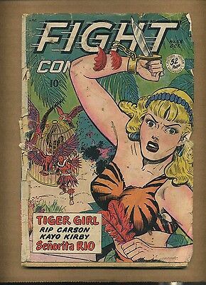 Fight Comics 58 (FR) 1948 Fiction House Tiger Girl Captain Fight (c#08395)