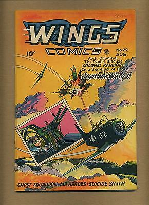 Wings Comics 72 (FN-) Fiction House 1946 Golden Age (id# 11849)
