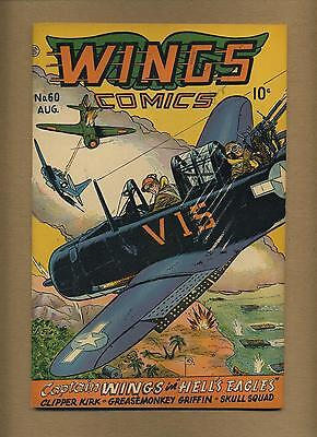 Wings Comics 60 (VG-) Fiction House 1945 Golden Age (id# 11841)