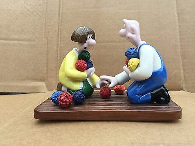 Wallace And Gromit Wool Shop Encounter Coalport Collectable