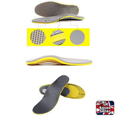 Orthotic Memory Foam Insoles Cushion Arch Support Pain Relief Insert Sport Shoe