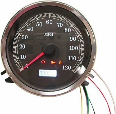 HardDrive Electronic Speedometer 120MPH For Harley-Davidson T21-6983-12