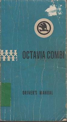 Skoda Octavia Combi Original 1970 Owners Maintenance & Instruction Handbook