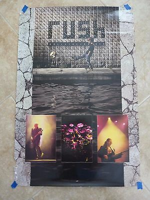 RUSH Band 24X36 RARE 1991 Roll The Bones Concert Tour Poster