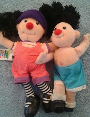 The Big Comfy Couch  Loonette& Molly Plush Dolls