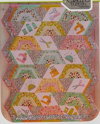 Sewing Kit - applique & pieced quilt PATTERN - Claire Turpin Designs