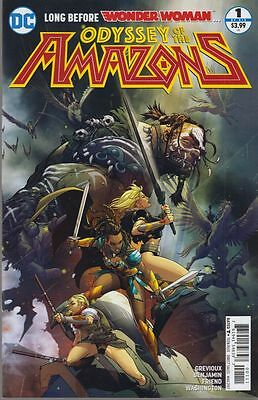 Odyssey Of The Amazons #1 Vf/nm Letterhead Comics