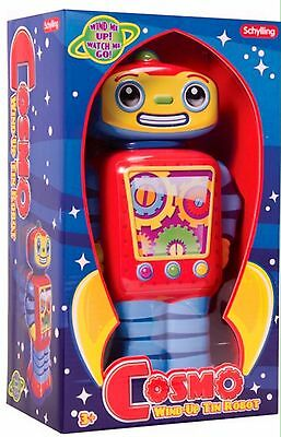 COSMO ROBOT LARGE KID SAFE TIN TOY Great Gift For Kids 3 Plus