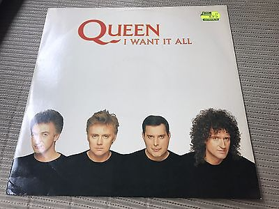"Queen - Freddie Mercury - I Want It All 12"" Maxi Uk Parlophone 89"