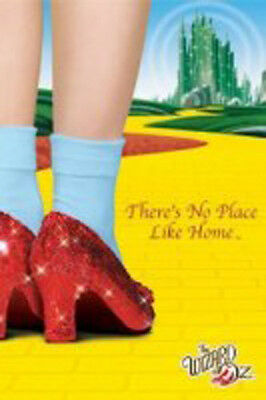 WIZARD OF OZ MOVIE POSTER (61x91cm) THERE'S NO PLACE LIKE HOME PICTURE PRINT NEW
