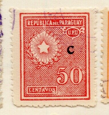 Paraguay 1935 Early Issue Fine Used 50c. 125068