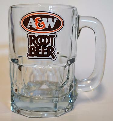 A&W Root Beer ~ Glass Cup Mug Stein ~ HTF