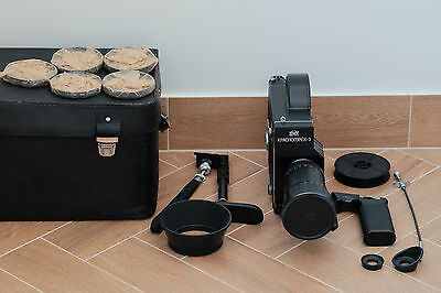 Krasnogorsk 3 16mm film camera Meteor 5-1 17-69mm f1,9  set