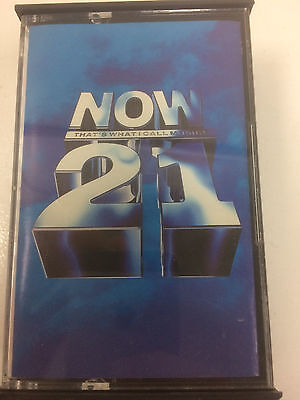 Now Thats What I Call Music 21 - rare - Double cassette tape