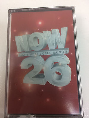 Now Thats What I Call Music 26 - rare - Double cassette tape