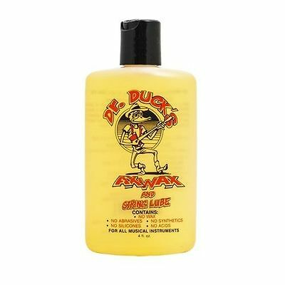 Dr Duck's Instrument / Guitar Ax Wax & String Lube. Cleans & Lubes Everything !!