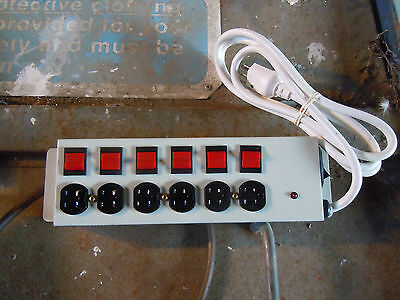 Temporary Power Tap American 125 v volts socket trailing outlet extension lead