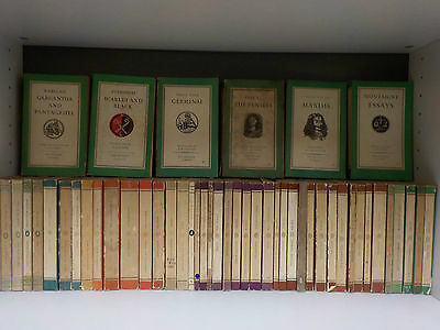 Vintage 'The Penguin Classics' (1950's) - 48 Books Collection! (ID:42365)