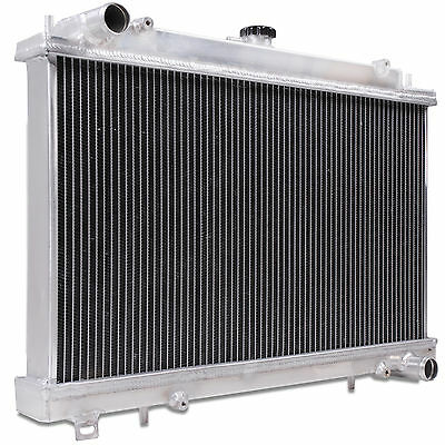 Super Cool Twin Core Aluminium Alloy Radiator For Nissan 200Sx S14 S14A 95-02