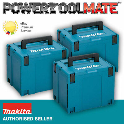 Makita 821552-6 MakPac Type 4 Stacking Connector Case *TRIPLE PACK*