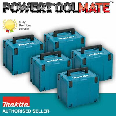 Makita 821552-6 MakPac Type 4 Stacking Connector Case *FIVE PACK*