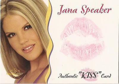 "Benchwarmer 2003 Gold Edition -  ""Jana Speaker"" Kiss Card"