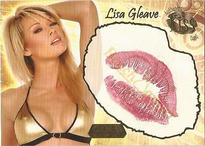 "Benchwarmer 2007 Gold Edition - 1 of 24 ""Lisa Gleave"" Kiss Card"