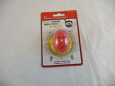 The Kitchen Company color changing egg timer new in package