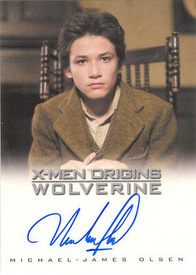 "X-Men Origins Wolverine - Michael-James Olsen as ""Young Victor"" Auto/Autograph"