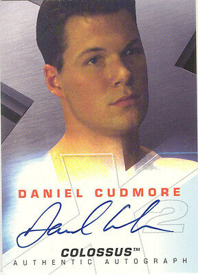 "X-Men 2, United - Daniel Cudmore as ""Colossus"" Auto / Autograph Card"