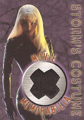 "X-Men The Movie - ""Storm"" Movie Memorabilia Costume Card"