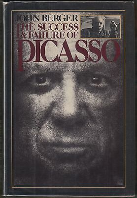 The Success and Failure of Picasso by John Berger (1980) HC/DJ~ILLUS~ART HISTORY