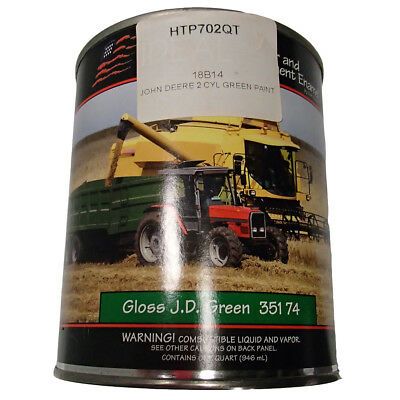 6451 1 Quart of John Deere Green Tractor Paint For 2 Cylinder Engine Tractors