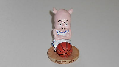 Warner Bros 1996 Space Jam figure PORKY PIG small resin figurine 2.5 inches high