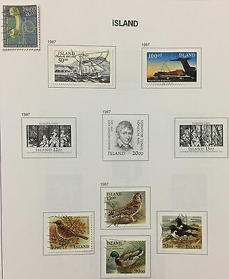Island Iceland 1986/87 Lot Of 7 Used For Description Look At The Picture Rare
