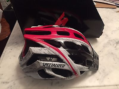 New Specialized Bicycle Propero Helmet Black/Red/White Size Small
