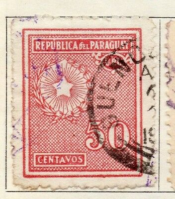 Paraguay 1927-30 Early Issue Fine Used 50c. 125245