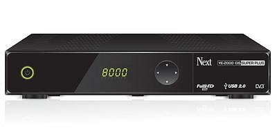 Next YE-2000 HD CIS Plus CR Full HD 1080p Sat USB Receiver mit Kartenleser