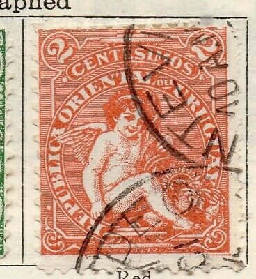 Uruguay 1904 Early Issue Fine Used 2c. 125761