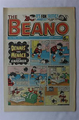 The Beano #1898 Dec 2nd 1978 FN Vintage Comic Bronze Age Dennis The Menace