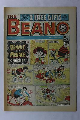 The Beano #1891 Oct 14th 1978 FN Vintage Comic Bronze Age Dennis The Menace