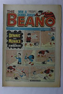 The Beano #1890 Oct 7th 1978 FN Vintage Comic Bronze Age Dennis The Menace