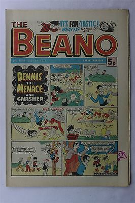 The Beano #1876 July 1st 1978 FN Vintage Comic Bronze Age Dennis The Menace