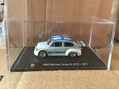 "DIE CAST "" 1000 BERLINA CORSA Gr. 2/70 - 1971 "" + TECA  BOX 2 SCALA 1/43"