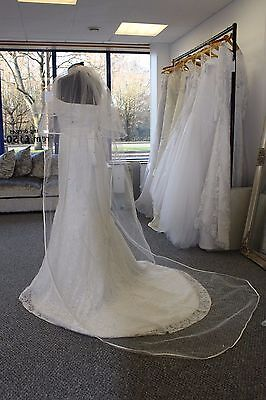 Cathedral length veil with added sparkle