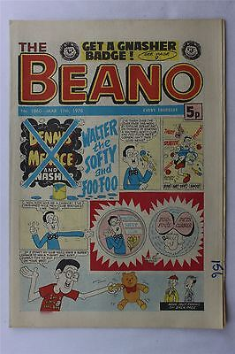 The Beano #1860 March 11th 1978 FN Vintage Comic Bronze Age Dennis The Menace